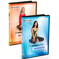 Viniyoga Therapy for Anxiety and Depression – 2-DVD set